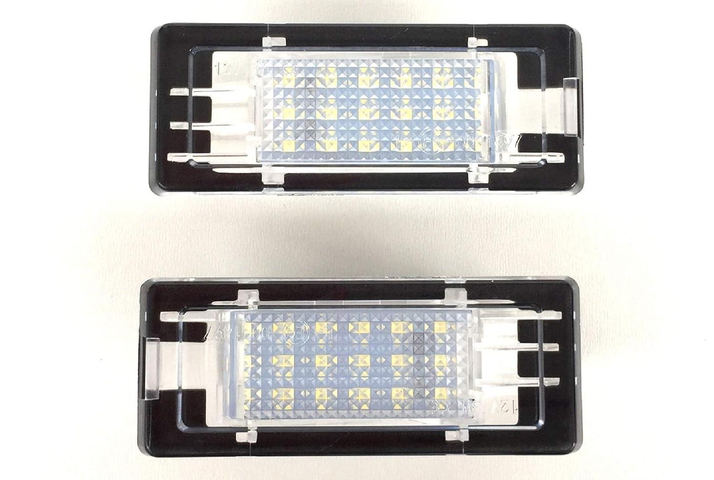 LED Kennzeichenbeleuchtung Nummernschildbeleuchtung Set rechts und Links Bitte BAUJAHRE UND EINSCHR/ÄNKUNGEN unten BEACHTEN