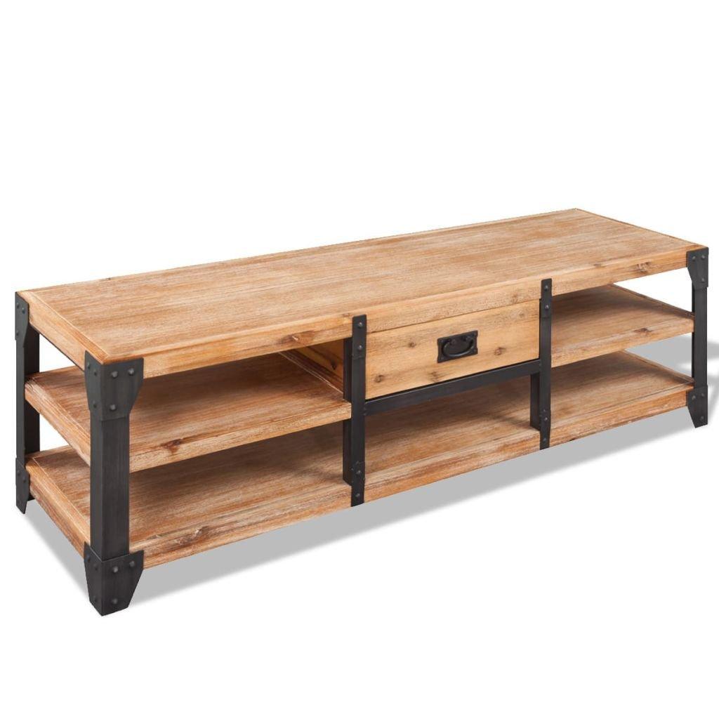 vidaXL Coffee Table Side End Living Room Table Furniture Solid Acacia Wood Brown