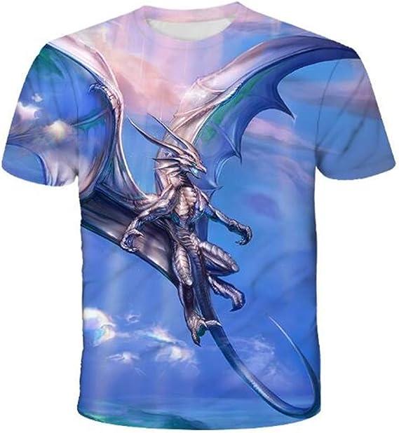 Camiseta Casual De Manga Corta con Estampado Digital 3D Venom Fawn De Verano para Hombre: Amazon.es: Ropa y accesorios