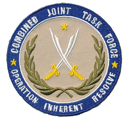 Swat Tactical Vest Costume (Patch Squad Men's Combined Joint Task Force Operation Inherent Resolve Patch)