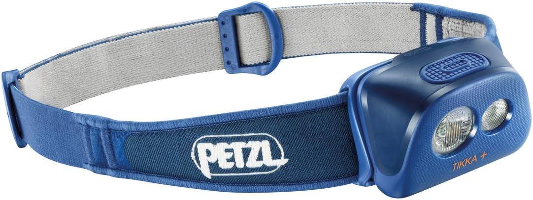 Petzl Tikka + - Linterna (Linterna con Cinta para Cabeza, Azul ...