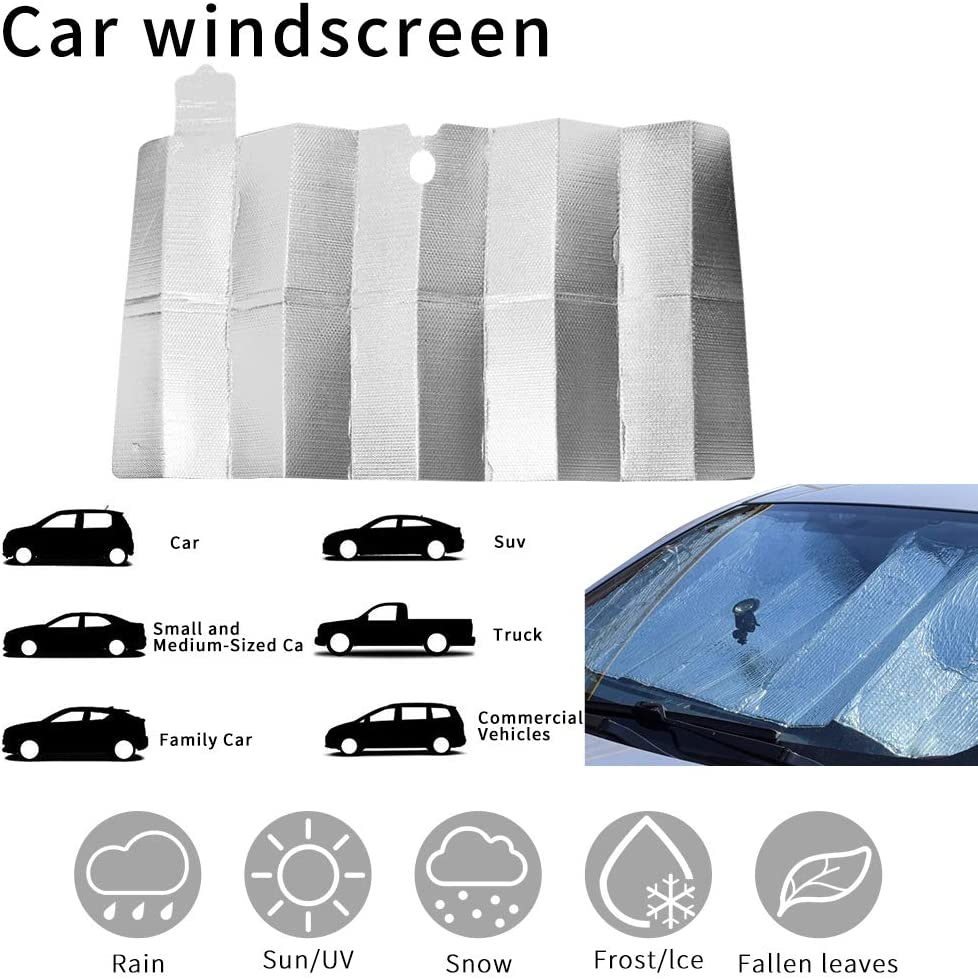 HUADADA Car Sun Shades for Kids Car Sun Shade Windscreen Car Windscreen Sun Shade Sun Shades for Car Baby