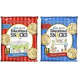 Educational Snacks   Social Studies Bundle   (60) 1 oz Bags   States & Capitals Bundled With Presidents   Sweet Vanilla Crack