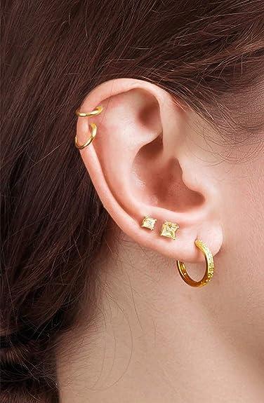 small flower hoop earrings,copper earrings,silver ear post,tiny post earrings,handmade earrings\uff0ccross earrings,delicate earrings
