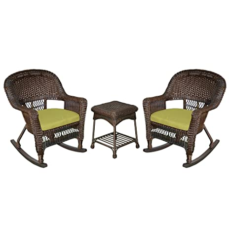 Amazon.com: Jeco – w00201r-a-2-rces029 Espresso Rocker silla ...