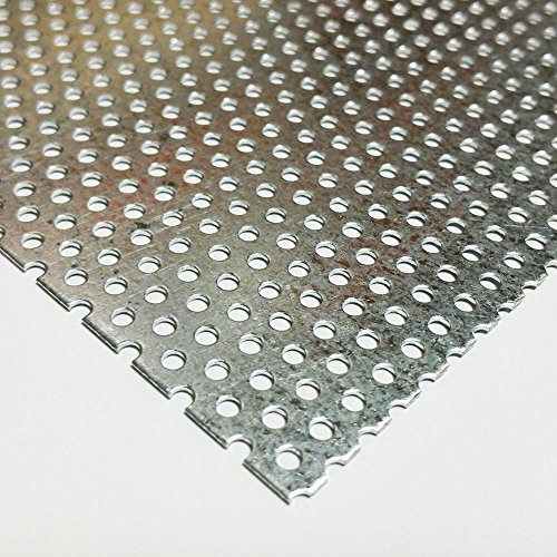 Online Metal Supply Galvanized Steel Perforated Sheet .034