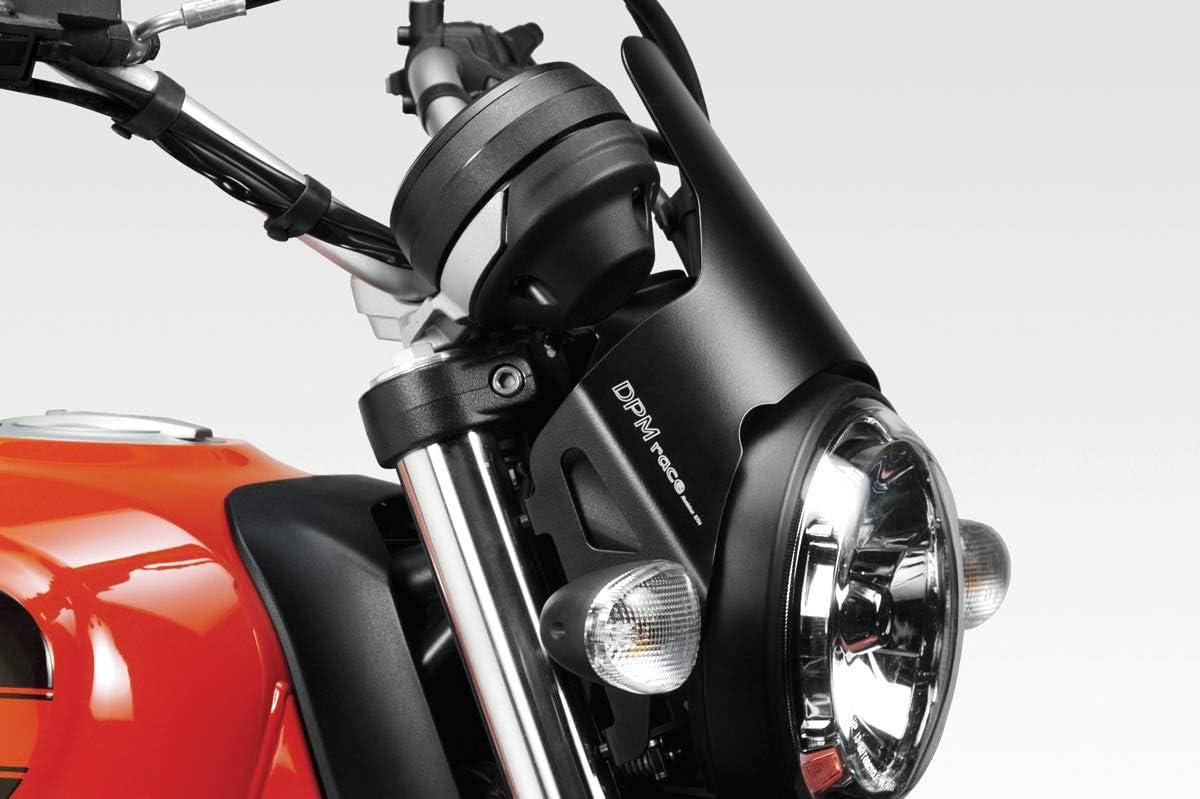 D-0200 - 100/% Made in Italy Windschutzscheibe DarkLight Motorradzubeh/ör De Pretto Moto - Aluminium Windschild Windabweiser Scheibe Ducati Scrambler 400 Sixty2 DPM Race
