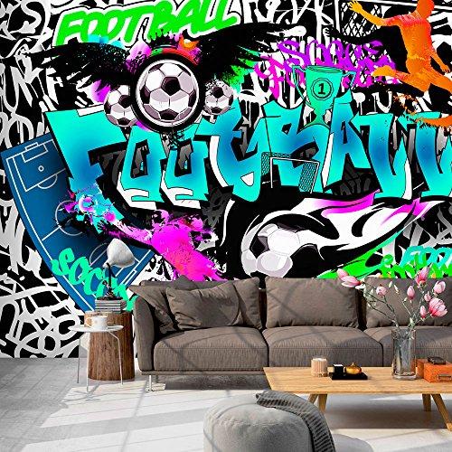 Vlies Fototapete 400x280 cm - 3 Farben zur Auswahl - Top Tapete Wandbilder XXL Wandbild Bild Fototapeten Tapeten Wandtapete Graffiti i-A-0111-a-c