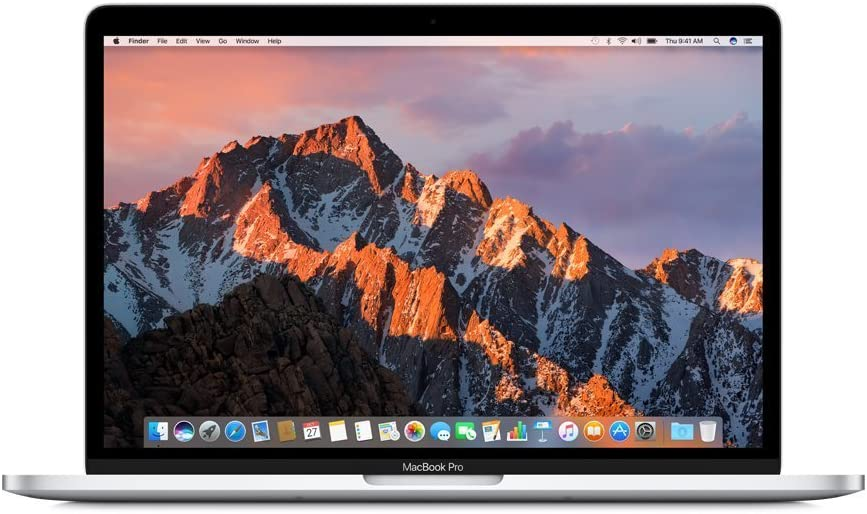 Apple 13in MacBook Pro, Retina, Touch Bar, 3.1GHz Intel Core i5 Dual Core, 8GB RAM, 512GB SSD, Silver, MPXY2LL/A (Renewed)