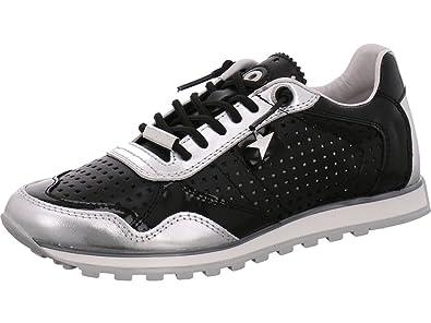 Cetti C-848 Lux - Zapatillas de Piel para mujer Plata Negro 39: Amazon.es: Zapatos y complementos