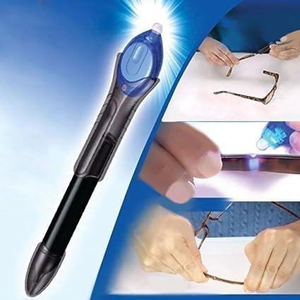 UV Activa pegamento, líquido cristal soldadura compuesto pegamento reparación herramienta UV luz Fix reparación Pen