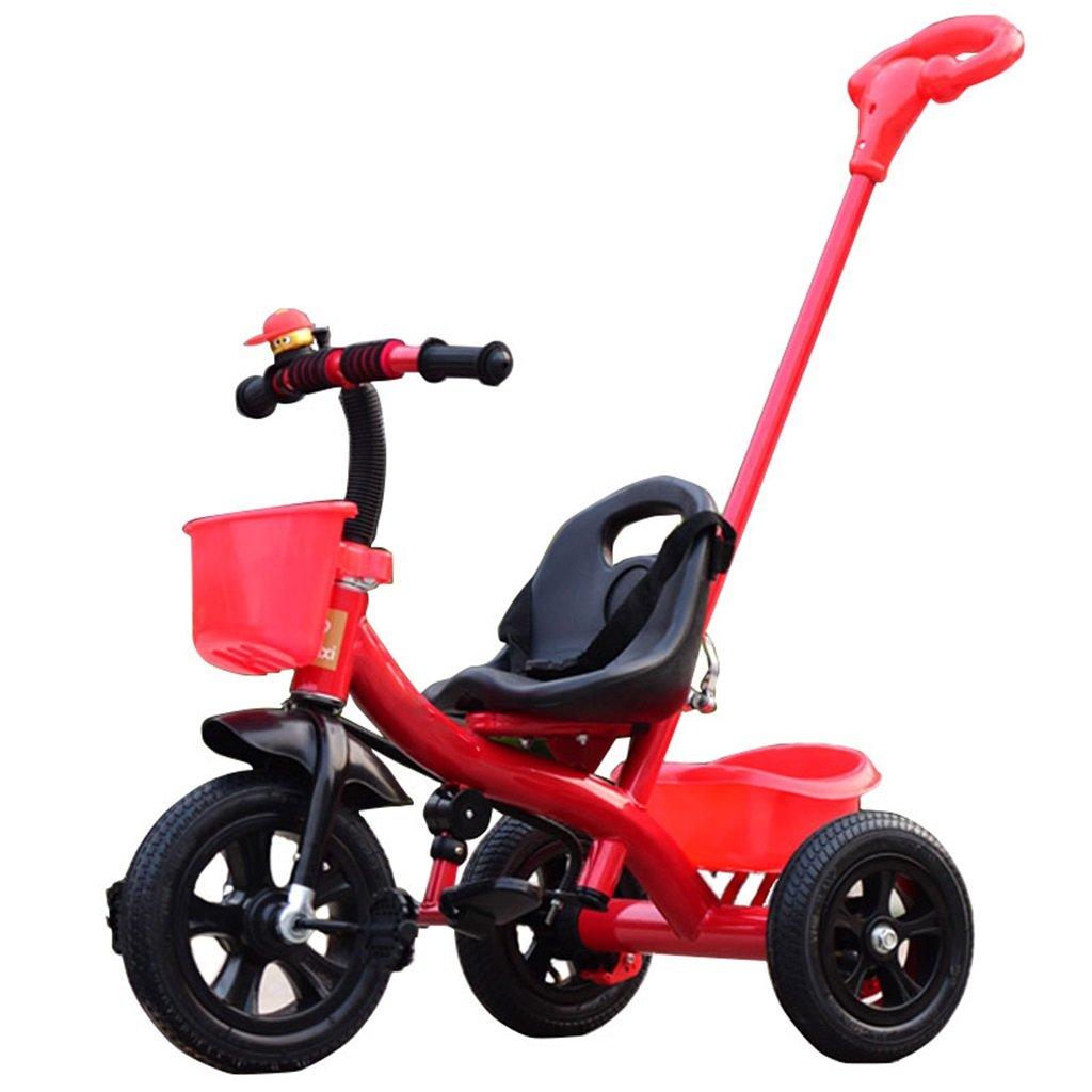 KANGR-子ども用自転車 三輪車の赤ちゃんキャリッジバイク子供のおもちゃの車のインフレータブルホイール/ 1-2-3-4歳(ボーイ/女の子)、赤に適した泡ホイール自転車 ( 色 : B type ) B07BTZF1WV B type B type