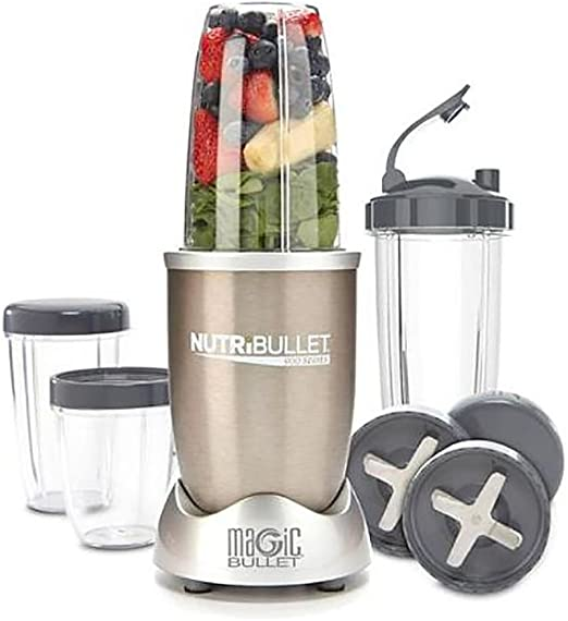 NutriBullet Pro 900 Magic Bullet - Extractor de zumo a 9 piezas ...