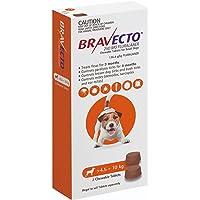 Bravecto Flea and Tick Chew Tablet, 2 Count, Orange