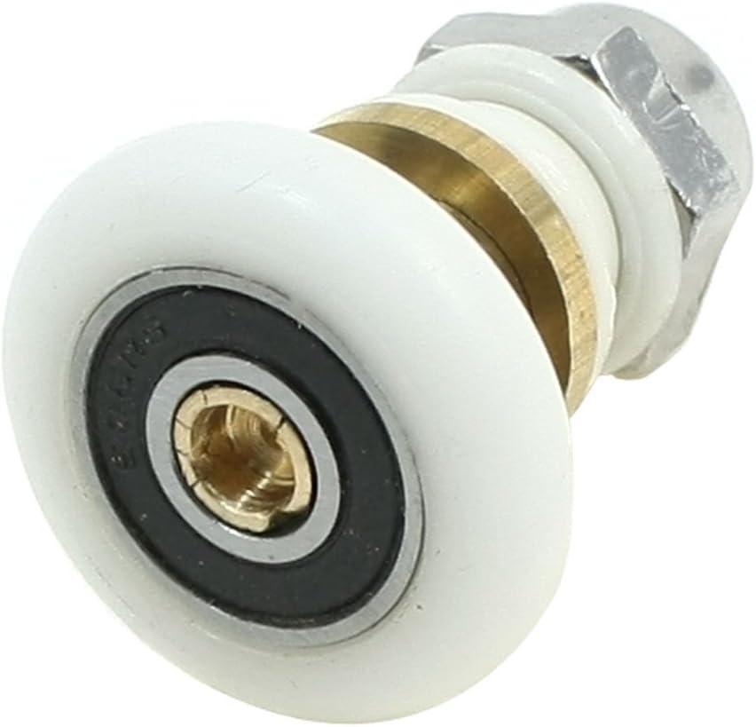 25 mm de baño polea cilindro de rodamiento rodillo para colgar cobre caña de pescar de cristal: Amazon.es: Bricolaje y herramientas