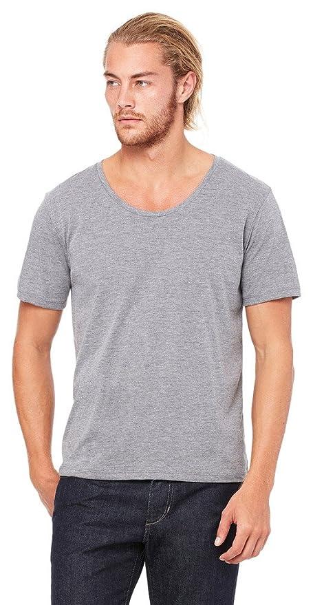da53dac7c36 Amazon.com  Bella + Canvas Men s Jersey Wide Neck T-Shirt