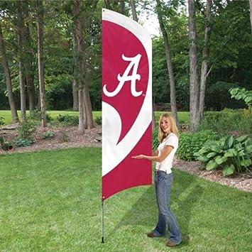 College Sports Teams Tall Team Feather Flag Signs (Alabama Crimson Tide)