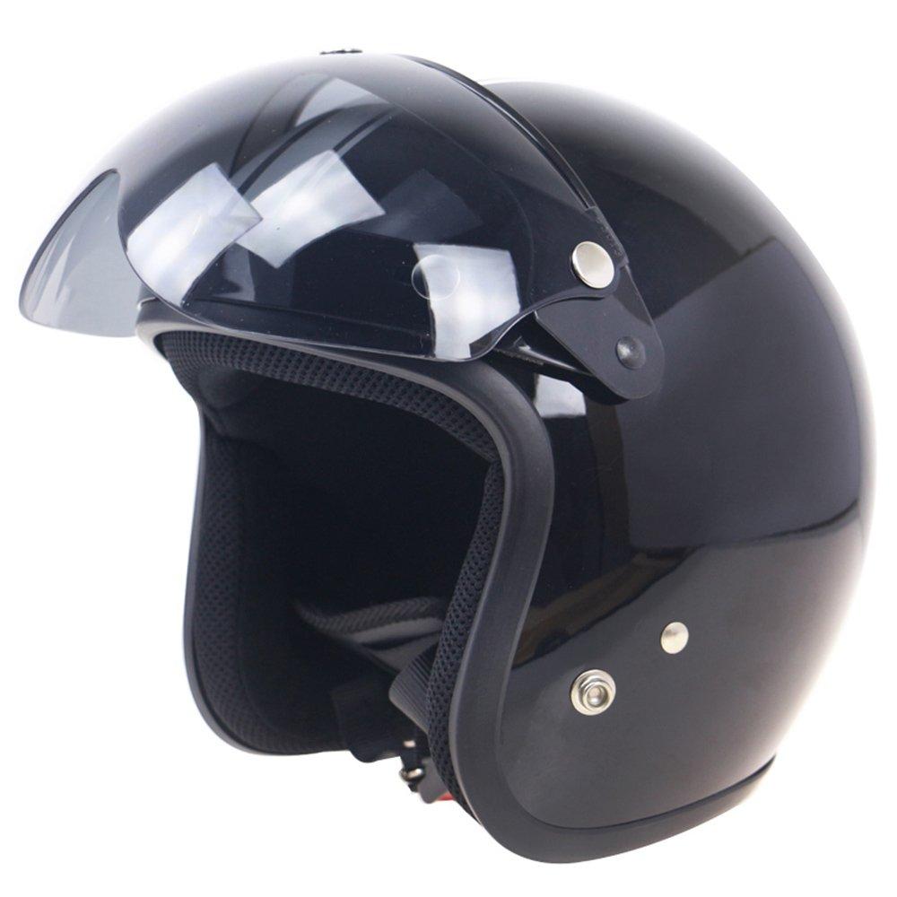 Festnight Universal Windproof 3-Snap Motorradhelm Visier vorne Flip Up Visier Windschutzscheibe Objektiv f/ür Motorradhelm Sonnenbrille