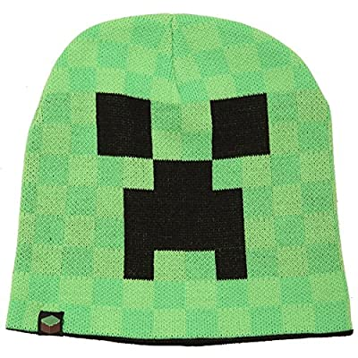 JINX Minecraft Creeper Face Knit Beanie from JINX