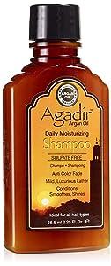 AGADIR Argan Oil Daily Moisturizing Shampoo, 2.25 Fl Oz