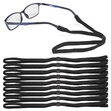 ATPWONZ 10pcs Correas Antideslizantes para Gafas Universal de Sol para Niños/Ancianos (Negro): Amazon.es: Deportes y aire libre