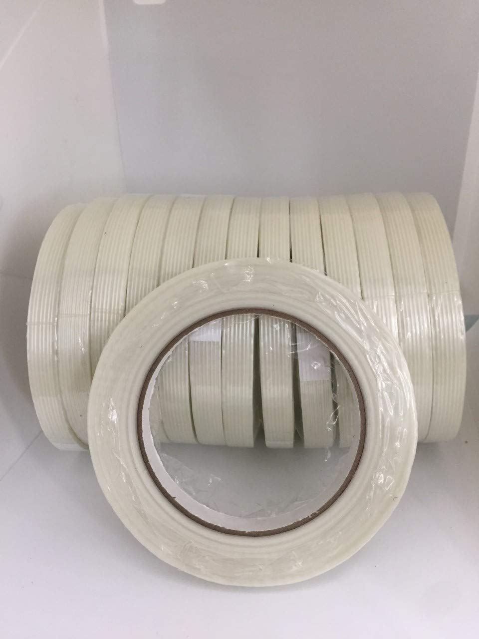 FIL-795 Filament Reinforced Strapping Tapes Buy 2 Rolls and TAKE 1 ROLL Free 1//2 X 60YD Pack of 1 ROLL ALLTAPESDEPOT Carton SEALIG Tape
