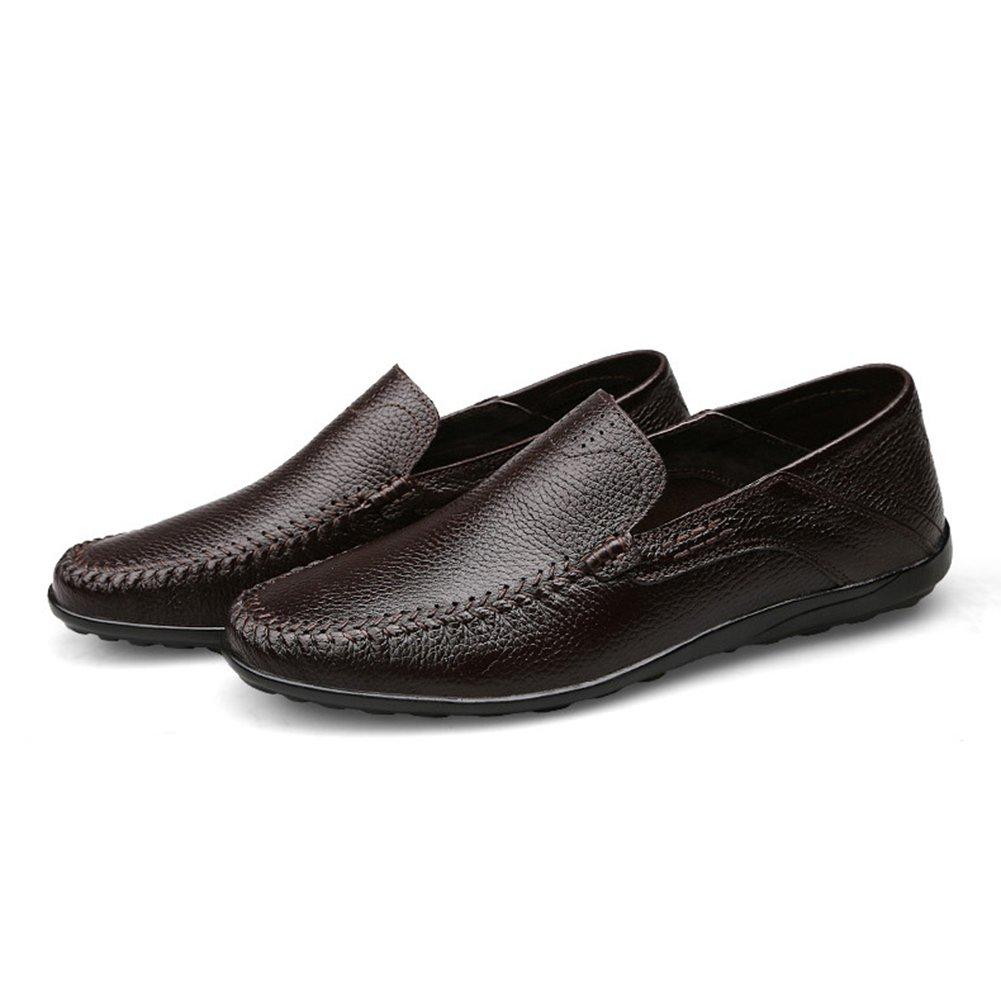 CAI Herren Schuhe Mikrofaser PU Leder Frühjahr Sommer Herbst Herbst Herbst Komfort Loafers & Slip-Ons Täglich Reisen Walking Schuhe Man Driving Schuhe Peas Schuhe (Farbe   Rot, Größe   43) b97f71