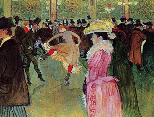 Dance at the Moulin Rouge by Henri De Toulouse-Lautrec - 20
