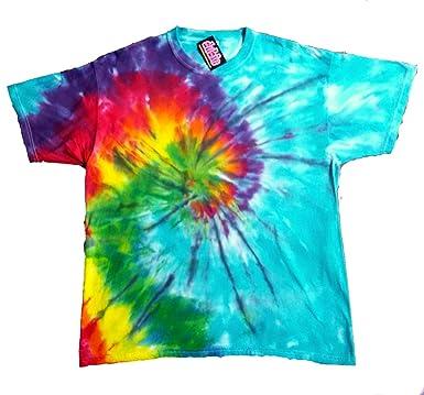 89938ecf0d9657 Amazon.com  Pinwheel Spiral Tie Dye Shirt  Clothing