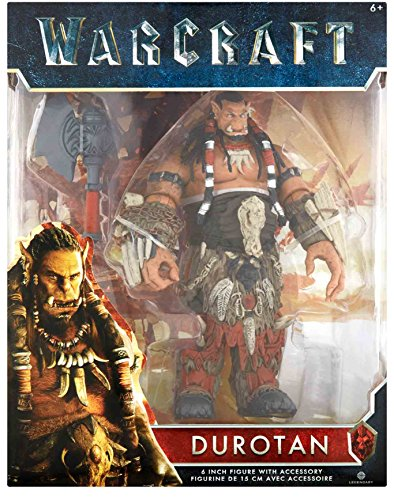 Warcraft Durotan 6 Inch Figure with Accessory 6+