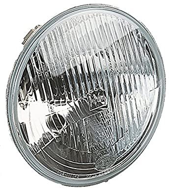"HELLA 002395991 7"" H4 Type Single High/Low Beam Headlamp"
