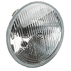 "HELLA 002395071 7"" H4 Type Single High/Low Beam Headlamp with Position Lamp"