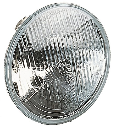 HELLA 002395031 Vision Plus 178mm H4 High/Low Beam Conversion Headlamp (Housing Only) (Beam Conversion Sealed Headlight)