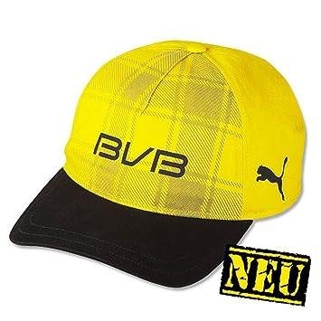 Borussia Dortmund Puma Basecap   Mütze   Cap   Kappe Karo BVB 09 ... 6db77f9efa