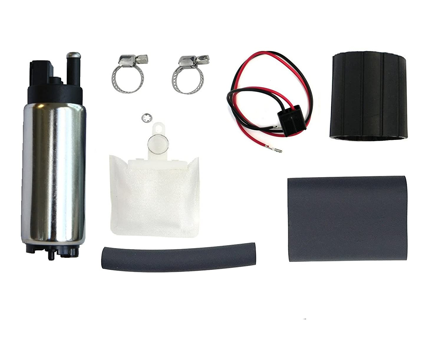 Topscope 255lph High Flow Electric Intank Fuel Pump With 93 Toyota T100 Wiring Installation Kit Automotive