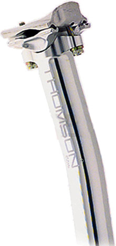 THOMSON(トムソン) ELITE シートポスト セットバック有 SPE101SBSL シルバー 27.2mm/330mm B0018T0R6E