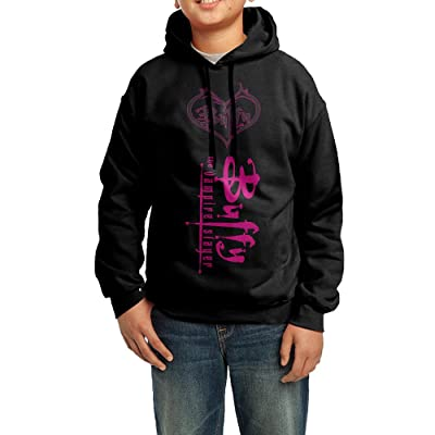 YHTY Youth Unisex Hooded Sweatshirt Buffy The Vampire Slayer Poster Black