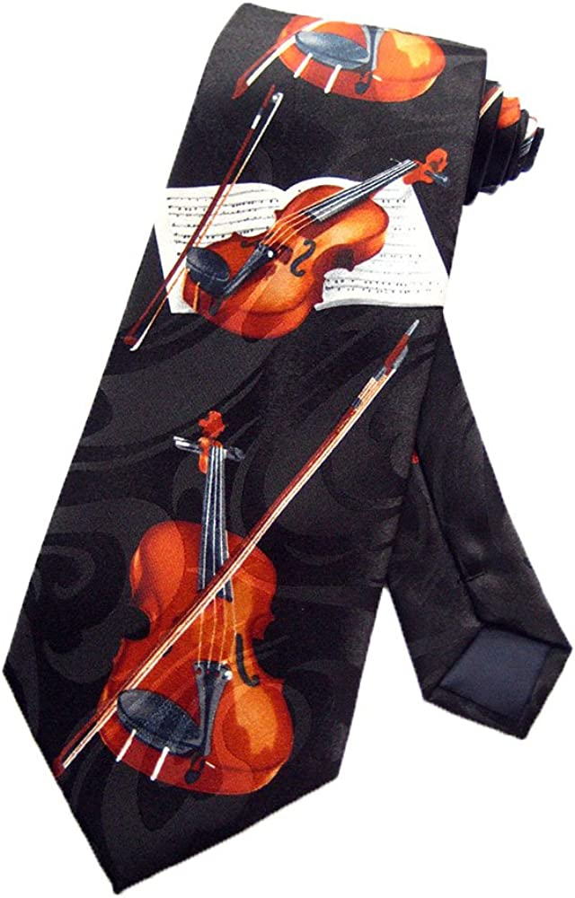 Steven Harris – Violín Instrumento Musical corbata – Negro – Talla ...