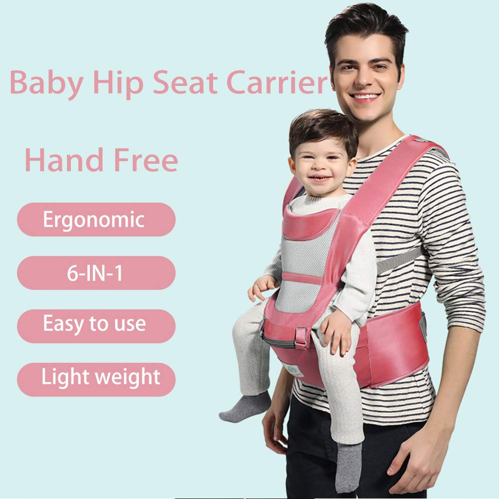 Comfortable Breathable Baby Carrier Sling Cotton Hipseat Nursing Cover Infant Sling Soft Natural Wrap Ergonomic Carrier Backpack Large Assortment Mother & Kids Activity & Gear