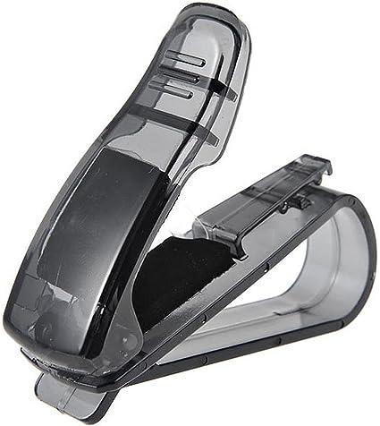 Kasstino Car Auto Sun Visor Clip Holder for Reading Glasses Sunglasses Eyeglass Card Pen