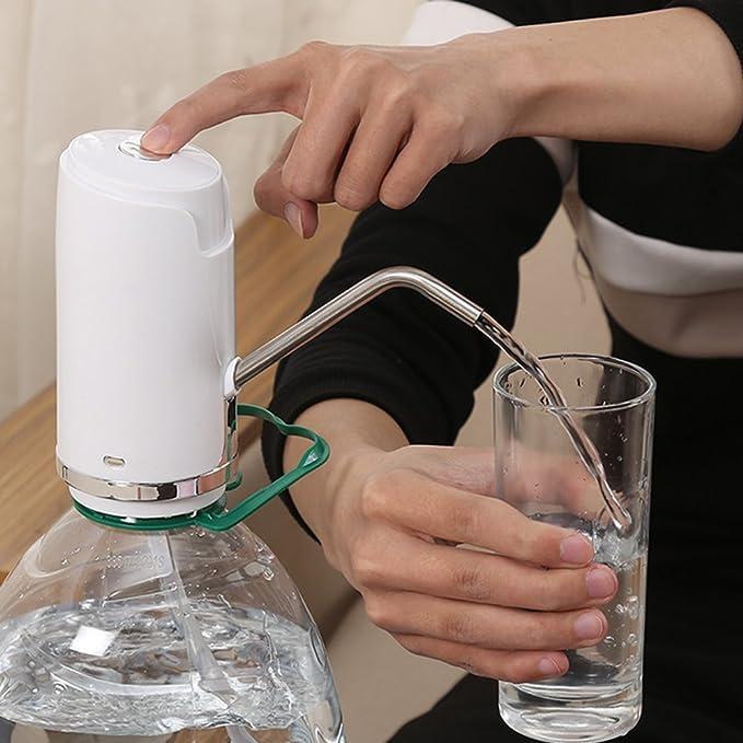 M&Z Smart - Cargador de Agua con Botellas, purificador de Agua, Bomba de Agua para el hogar: Amazon.es: Hogar