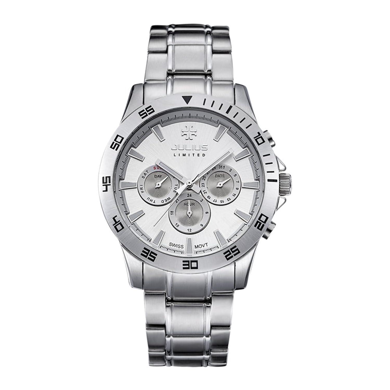 メンズウォッチ/スポーツクォーツ腕時計/防水ステンレススチールLuminous watches-b B01LEIM4UK