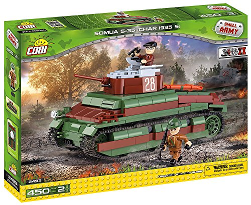 COBI Small Army Somua S-35 Tank