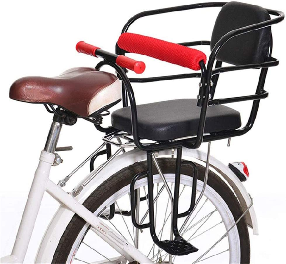 ZXCETZY Silla para bebé en Bicicleta Asiento de bebé Silla Trasera ...