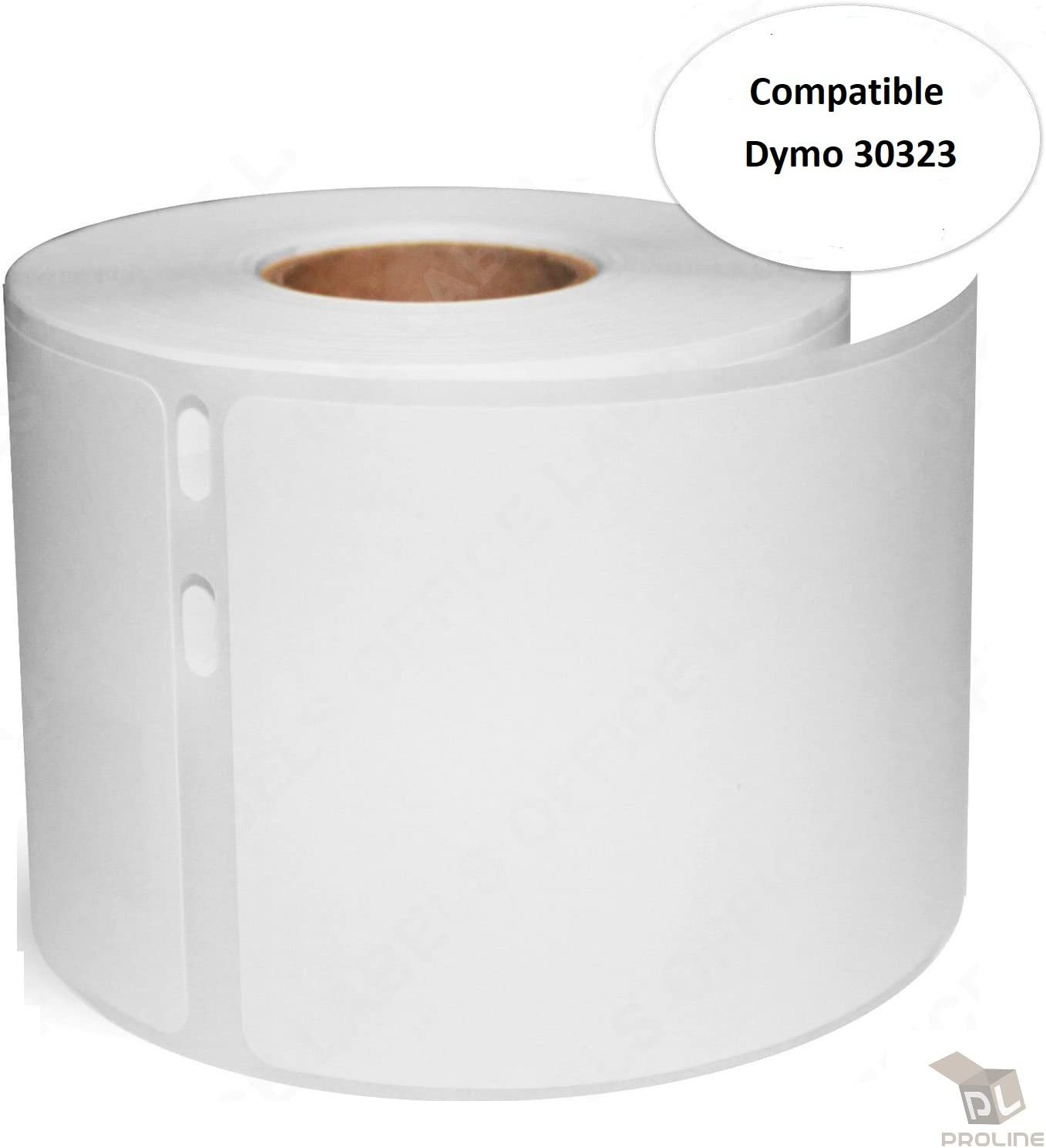 """1 Rolls DYMO 30323 REMOVABLE Compatible 2-1//8/"""" x 4/"""" New 54mm x 101mm Large S.."""