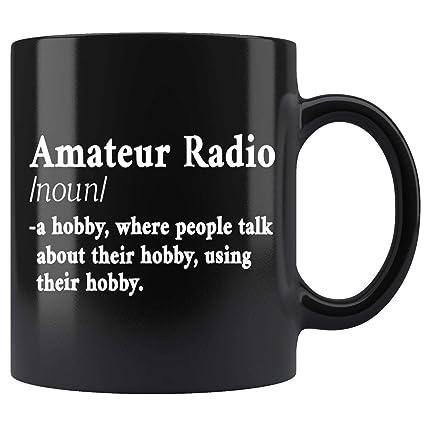 Amazon com: Amateur Ham Radio Definition CB Radio Geek CW