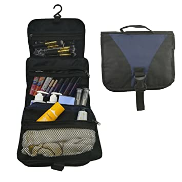 013fea57ce14 Amazon.com   Hanging Toiletry Travel Kit for Men and Women Travel Hanging  Toiletry Bag Organizer Cosmetic Makeup Wash Bag Hanging Dopp Kit Travel for  ...