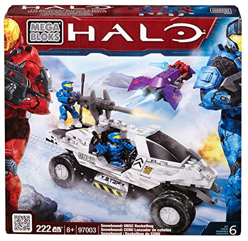 Mega Bloks Halo Snowbound UNSC Rockethog