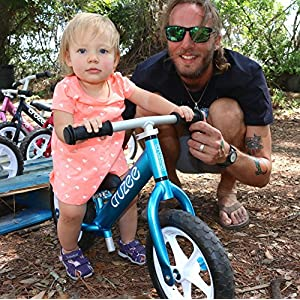 Cruzee UltraLite Balance Bike (4.4 lbs) for Ages 1.5 to 5 Years | Blue – Best Sport Push Bicycle for 2, 3 & 4 Year Old Boys & Girls– Toddlers & Kids Skip Tricycles on the Lightest First Bike 1