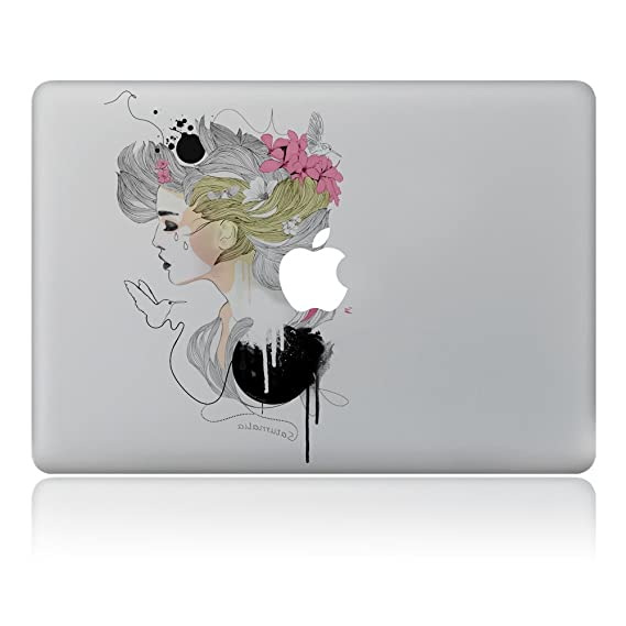 more photos aea0c f7c6b H4S Removable Decorative PVC MacBook Decals Skin Stickers Mac Cover Decal  for Apple MacBook Pro Air Retina13 Inch A1278 A1369 A1466 A1304 A1425  A1502, ...